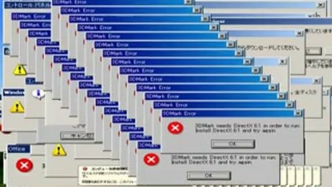 MS Windows XP Professional Error Messages