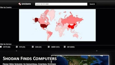 Shodan : Computer Search Engine