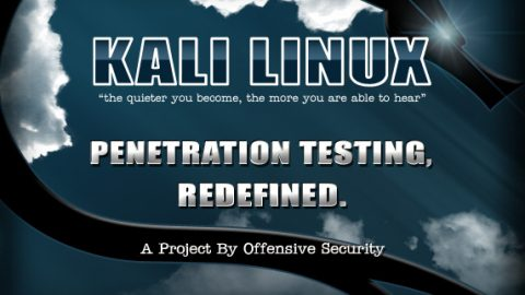 Kali Linux : New Version 1.0.8